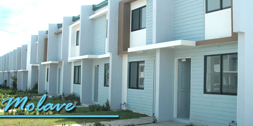 Molave Village - TOWNHOUSELot Area: 45.5 sqm • Floor Area: 66.5 sqm • 2-storey with 2 bedrooms and covered carport