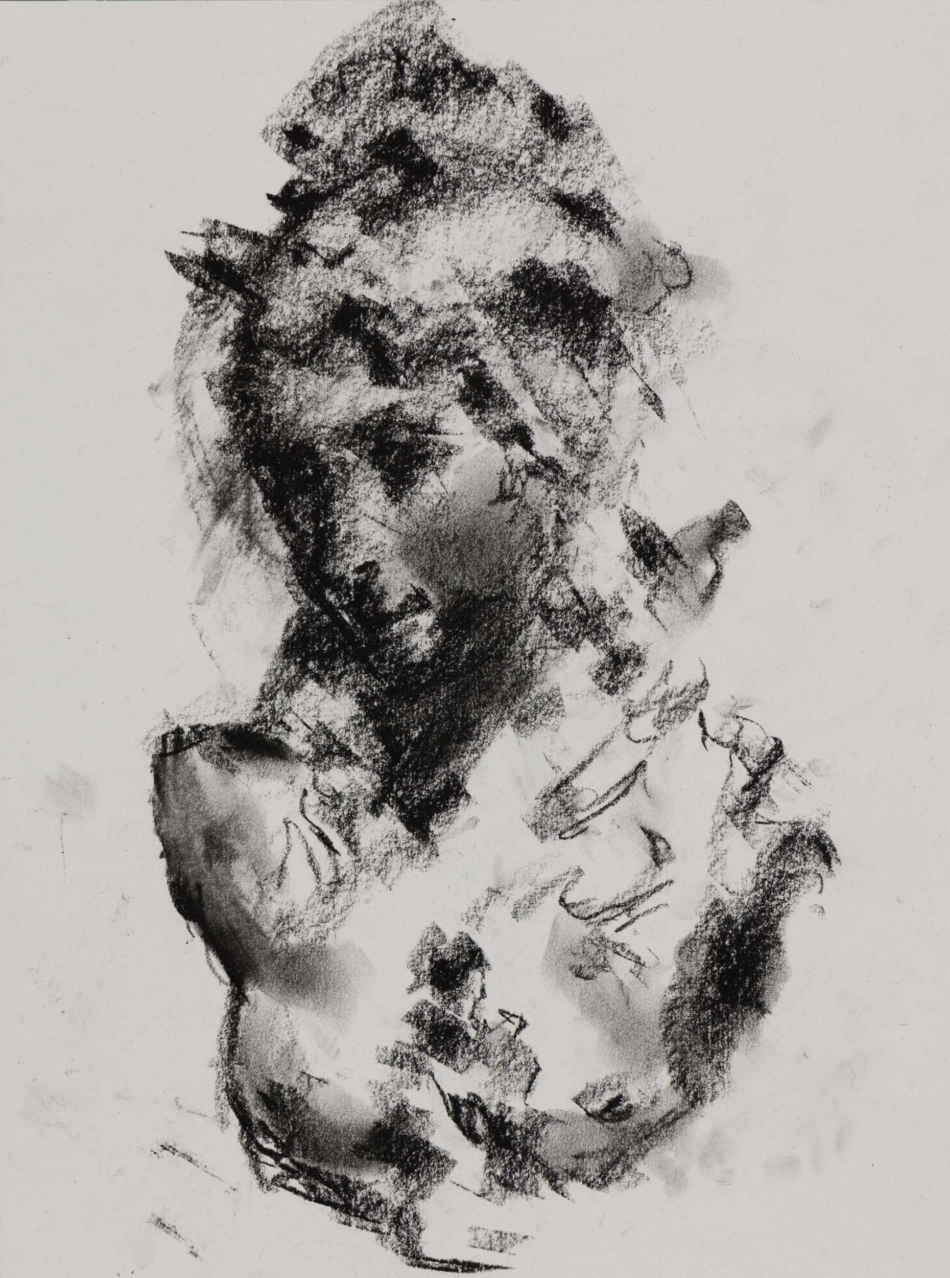 Sketch Study of Albert-Ernest Carrier-Belleuse's Fantasy Bust