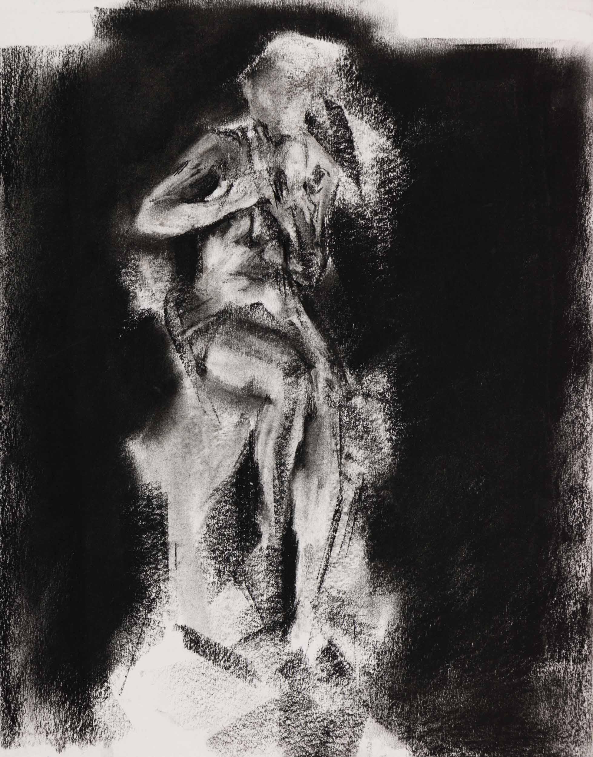 Sketch Study of Albert-Ernest Carrier-Belleuse's Chryselephantine