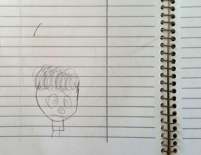 An early self portrait