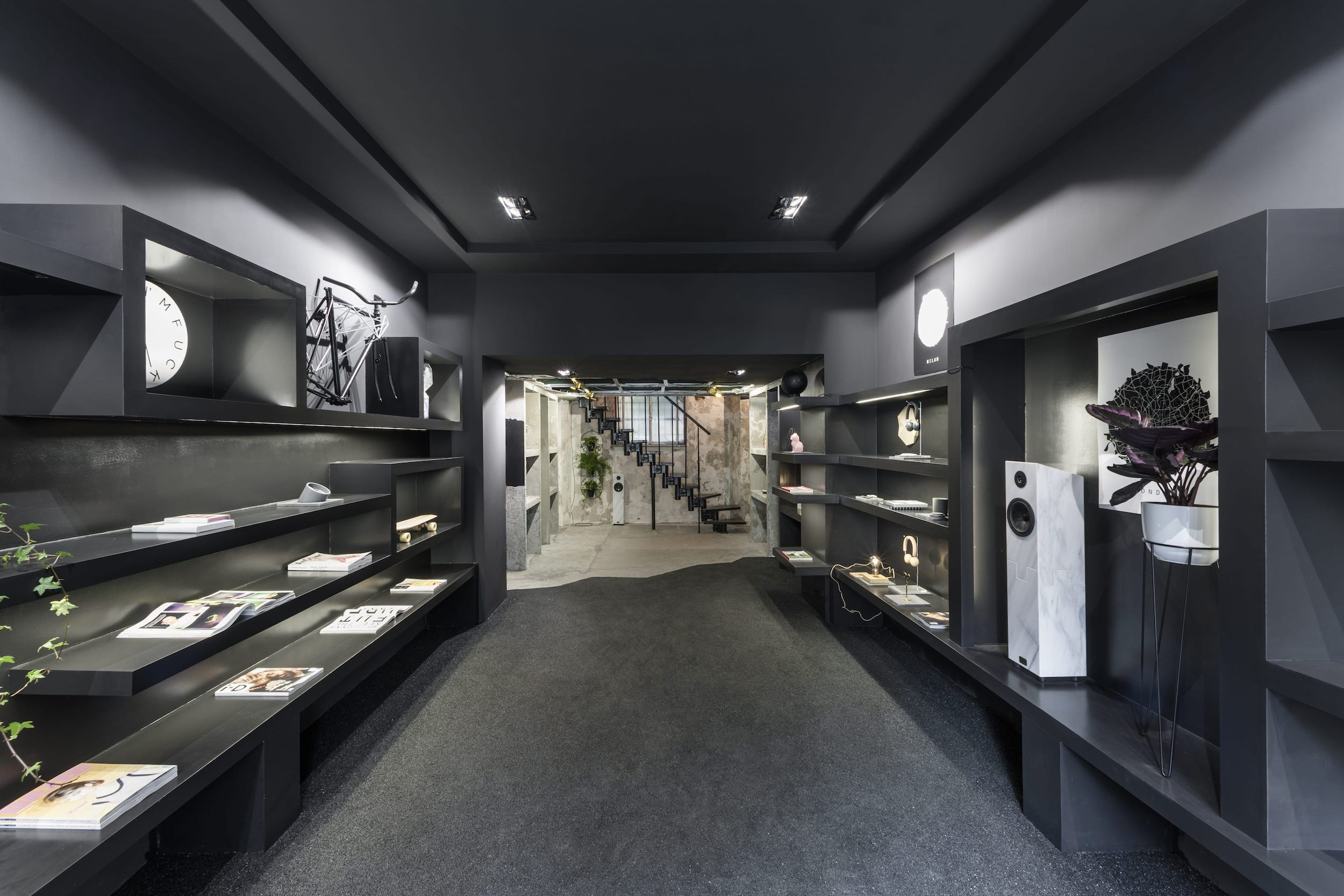 Interior architecture studio for retail, Milan