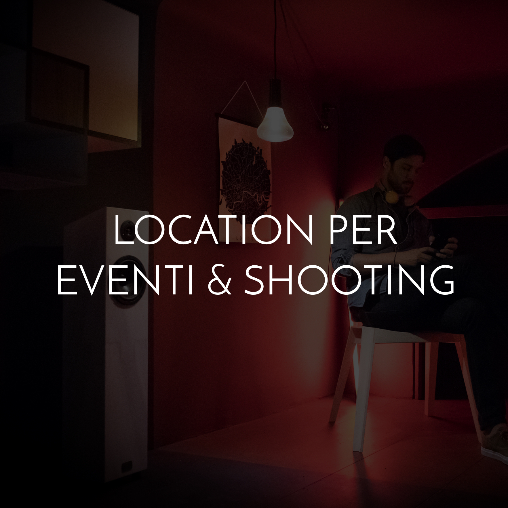 Location for events and shooting in central Milan