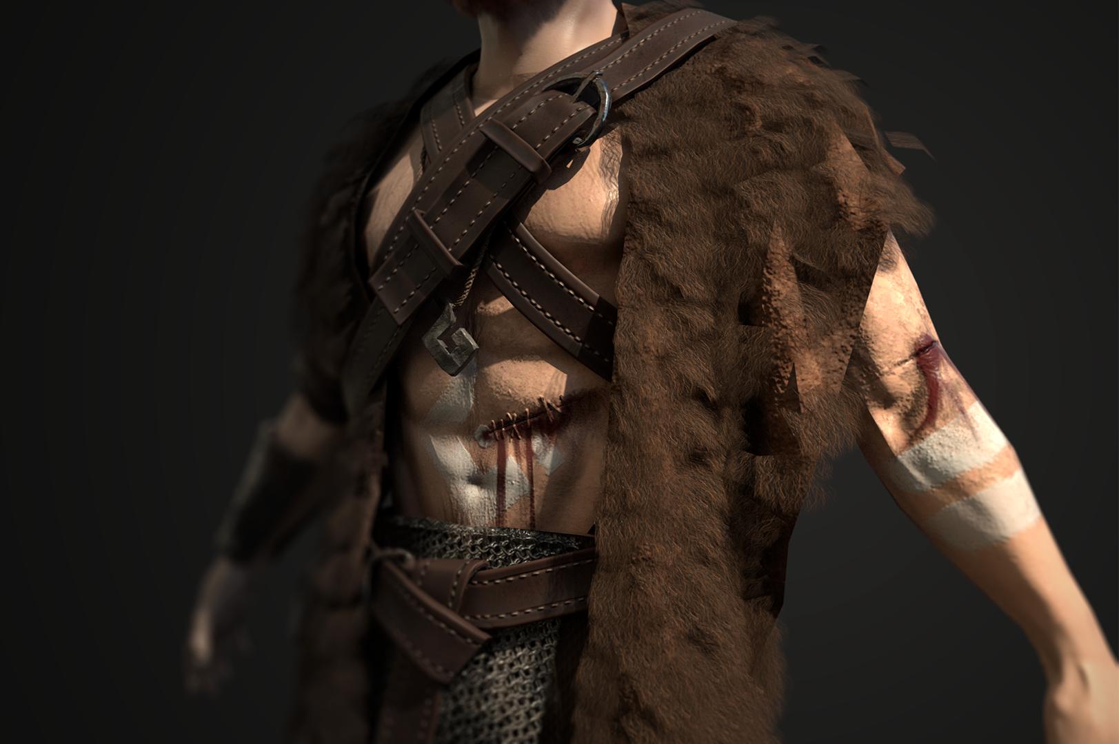 Norse Character — Tali Di Girolamo