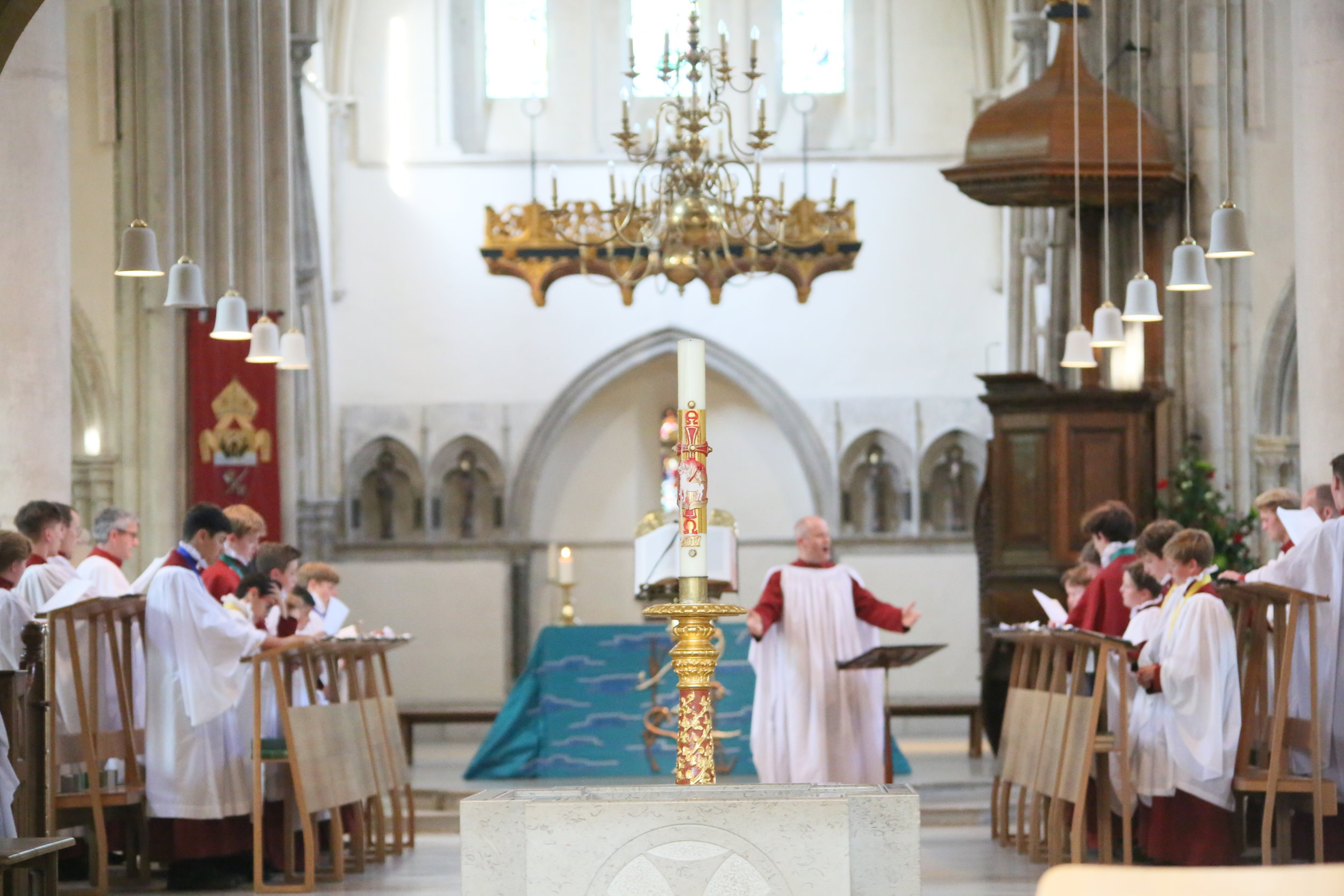 Choral Evensong at Portsmouth Cathedral