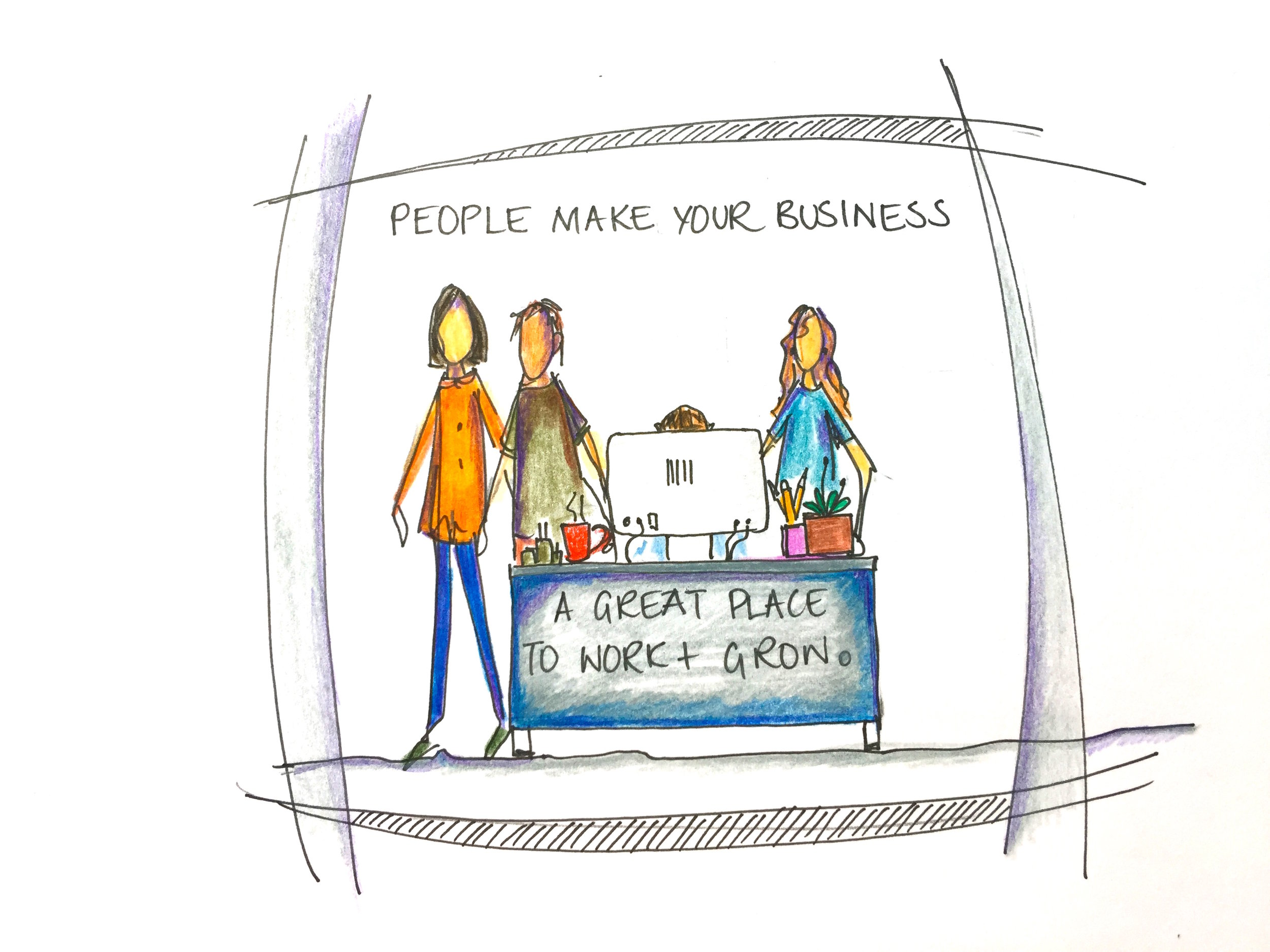 Make people your business