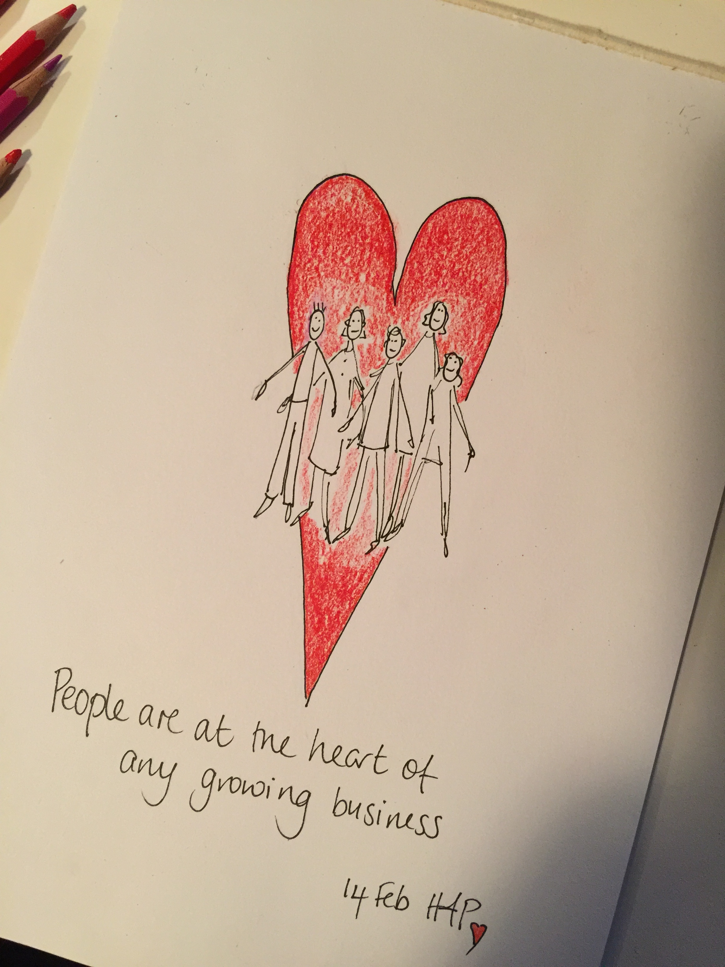 People at the heart
