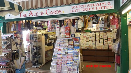 Ace of Cards - Location: Indoor Market HallTrading: Thursday and Saturday'sContact:Email: johnbrade3434@aol.comClick below for website...www.aceofcardssandbach.co.uk