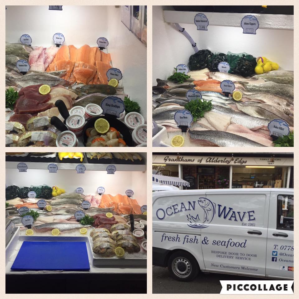 Ocean Wave  - Location: Outdoor MarketTrading: ThursdayContact: 07788 767 677Visit our Facebookwww.oceanwavefreshfish.co.uk