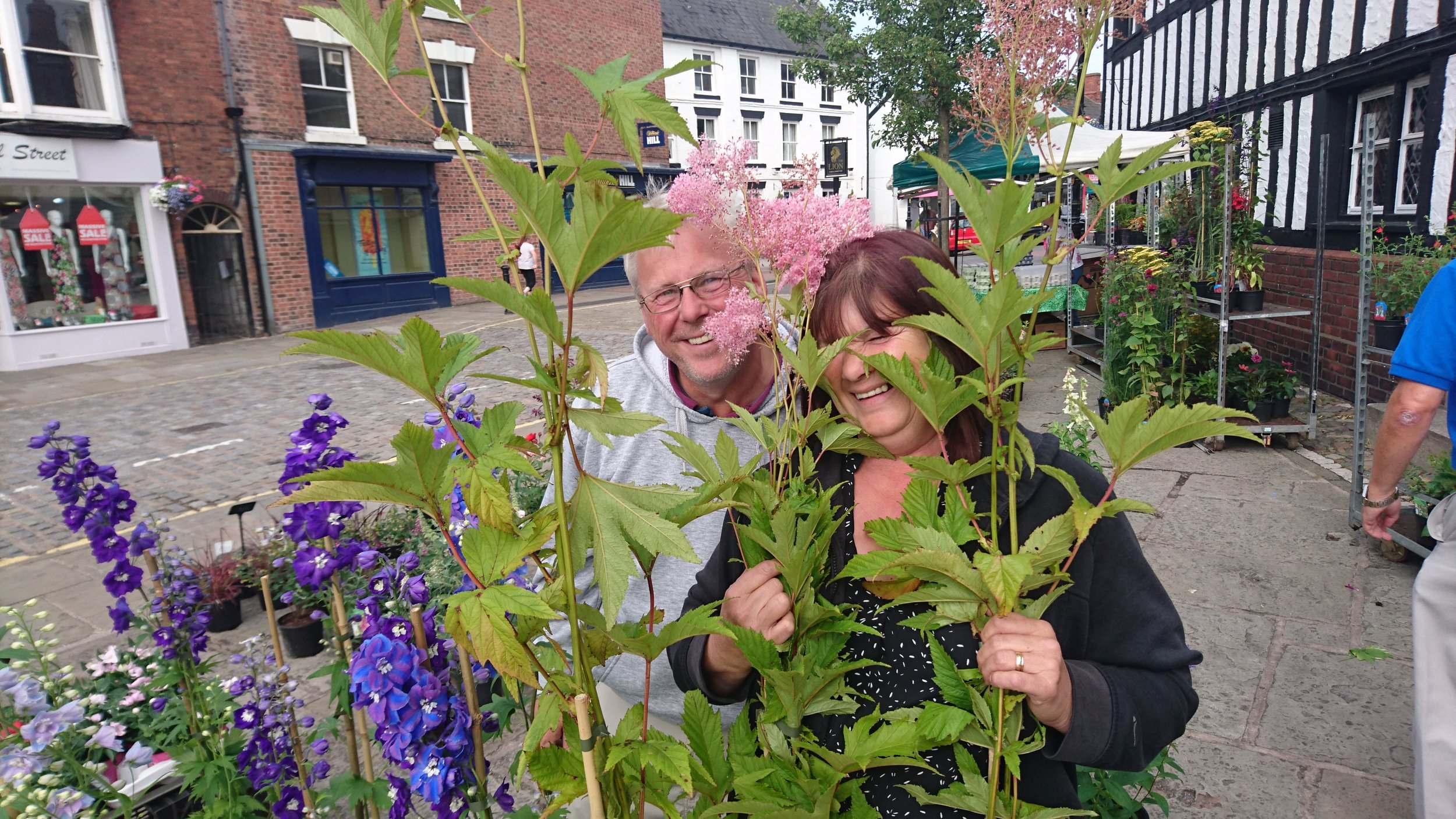 Just Plants - Location: Outdoor MarketTrading: ThursdayContact: 07932 911868Email: justplants@hotmail.co.ukAll aspects of seasonal garden plants and flowers, hanging pots and baskets, indoor plants and beautiful silk flowers.