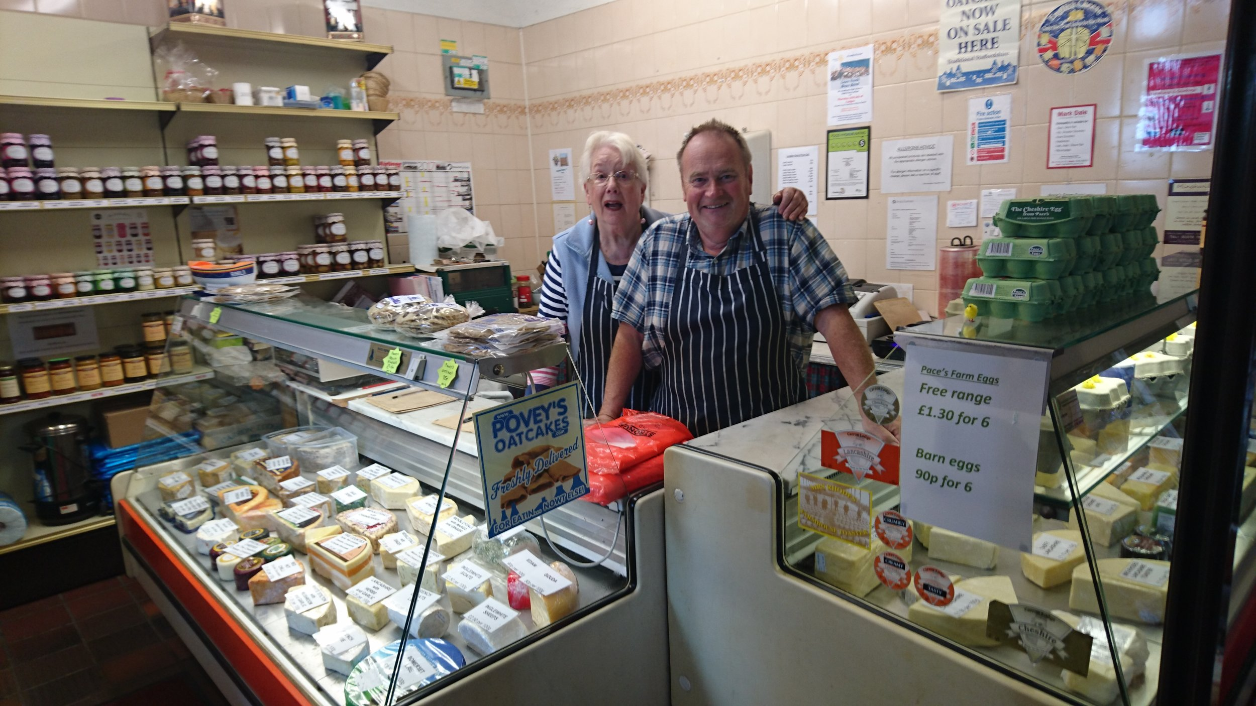 The Cheese Shop - Cheese, Dairy, Jams & Preserves, Cakes and BakeryLocation: Indoor Market Hall Shop UnitTrading: Monday - SaturdayContact: 07930 170104Email: thecheeseshop@outlook.com