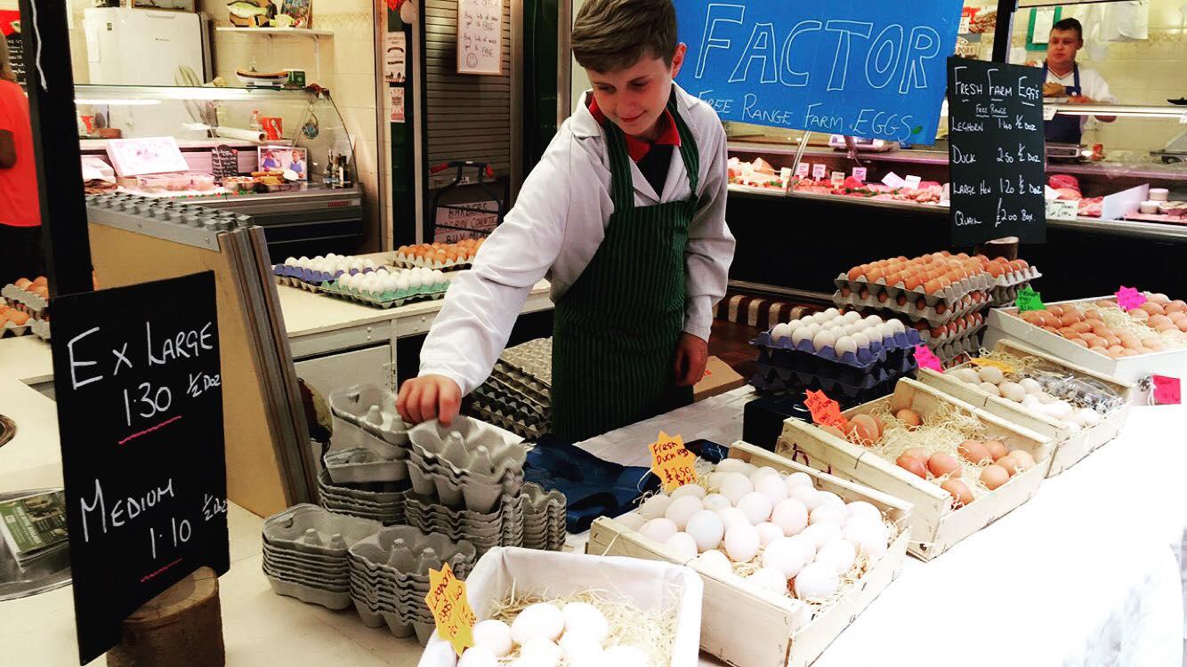 The Eggs Factor - Location: Indoor Market HallTrading: SaturdayFree Range farm eggs.