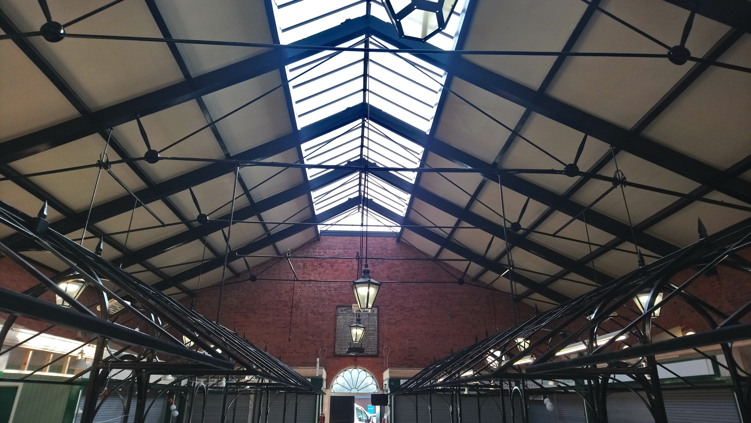 Week 5 - The Scaffolding is now down and the Ceiling has been decorated, with the new lights installed.