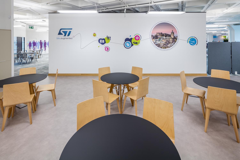 Branding used in office design