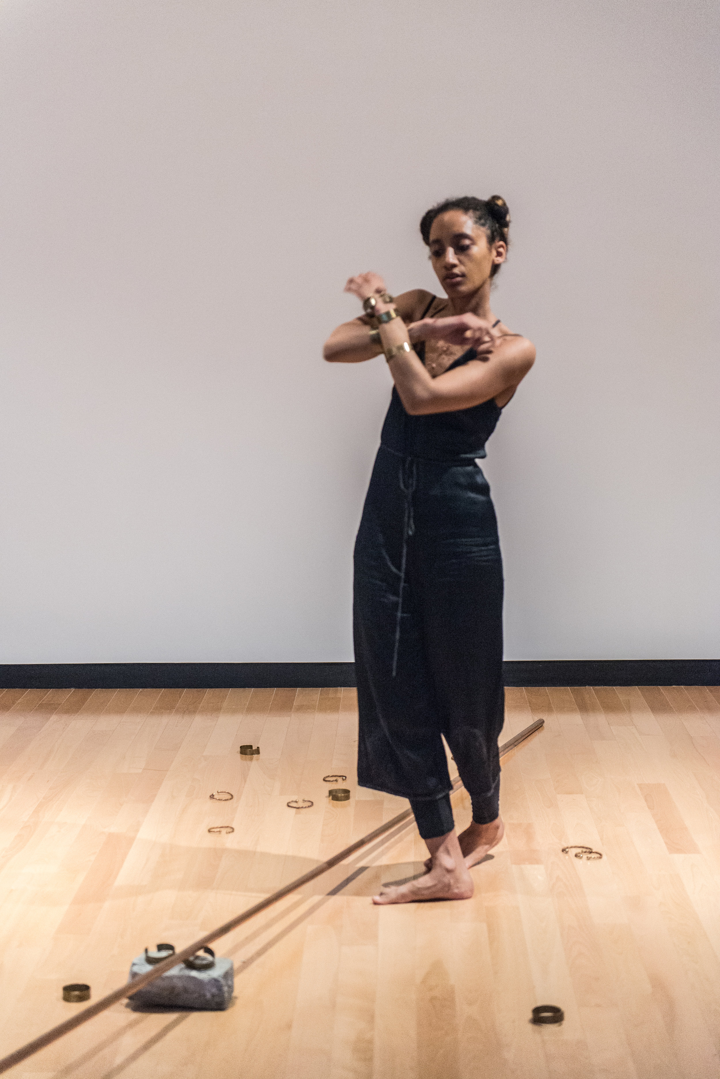 Jessica Karuhanga in  through a brass channel