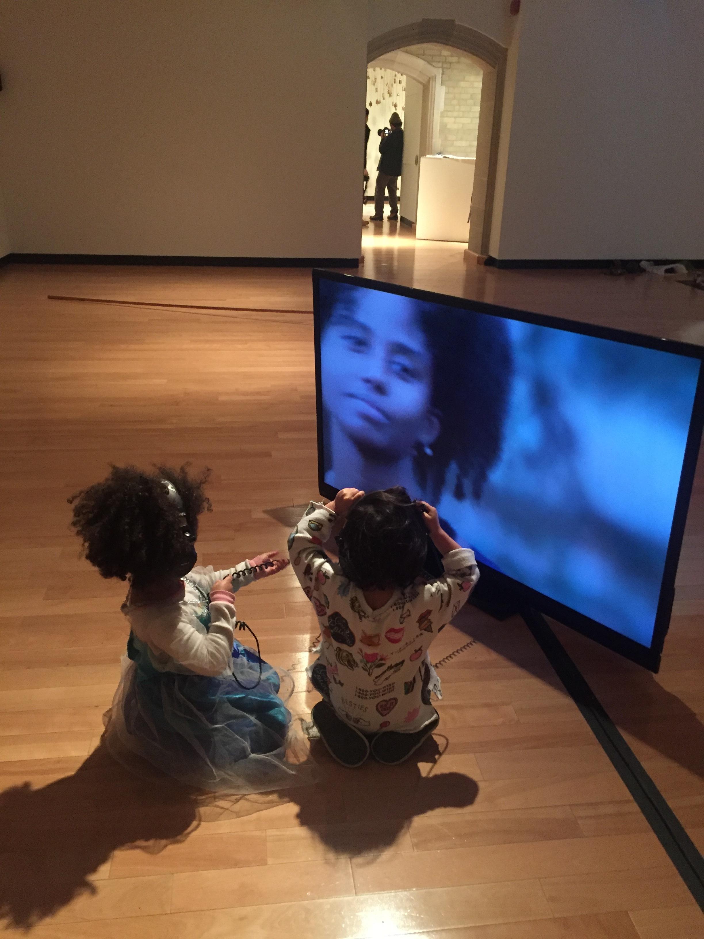Moon in the 12th House  - 2017, Single-channel video, Director: Jessica Karuhanga, Cinematographer: Xin Liu, Editors: Serene Husni and Jessica Karuhanga, Performers: Ahlam Mohammed, Maandeeq Mohamed, and Kimberley Wint