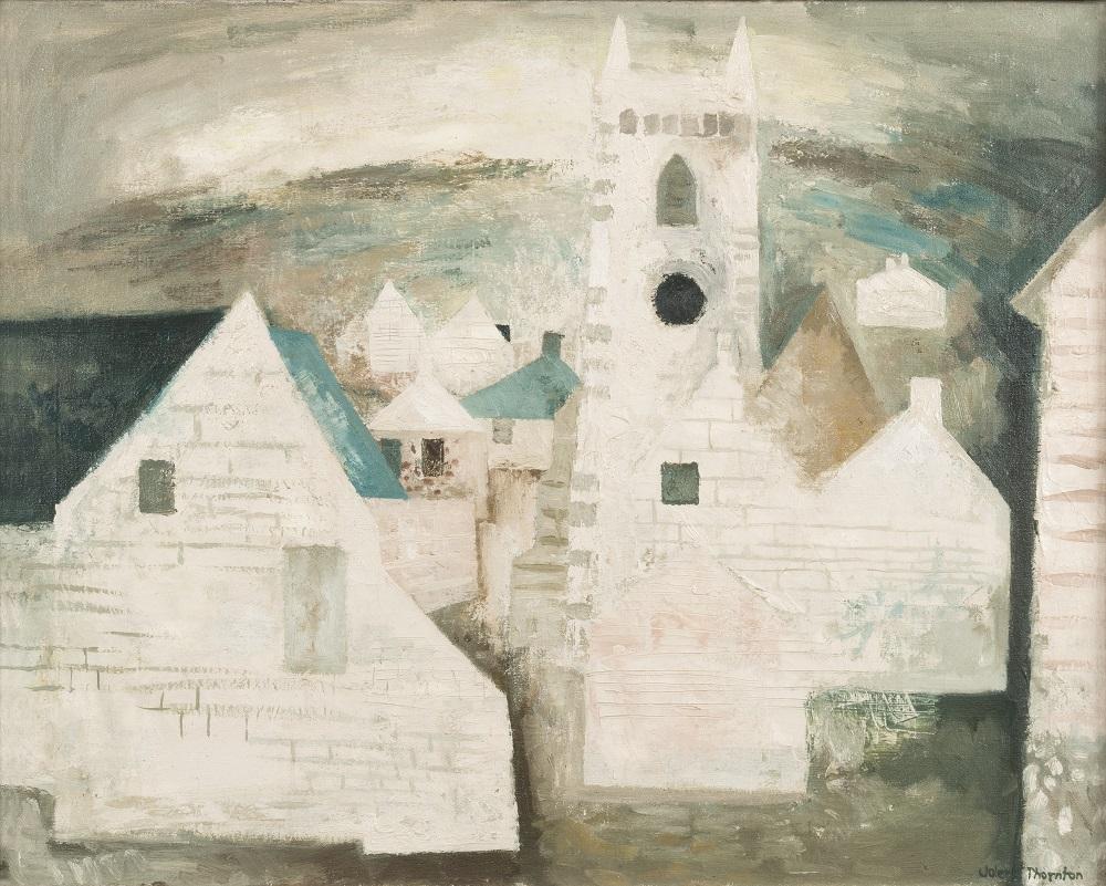 Valerie Thorton (1931-1991) The Village 1956-57. © Estate of the Artist.