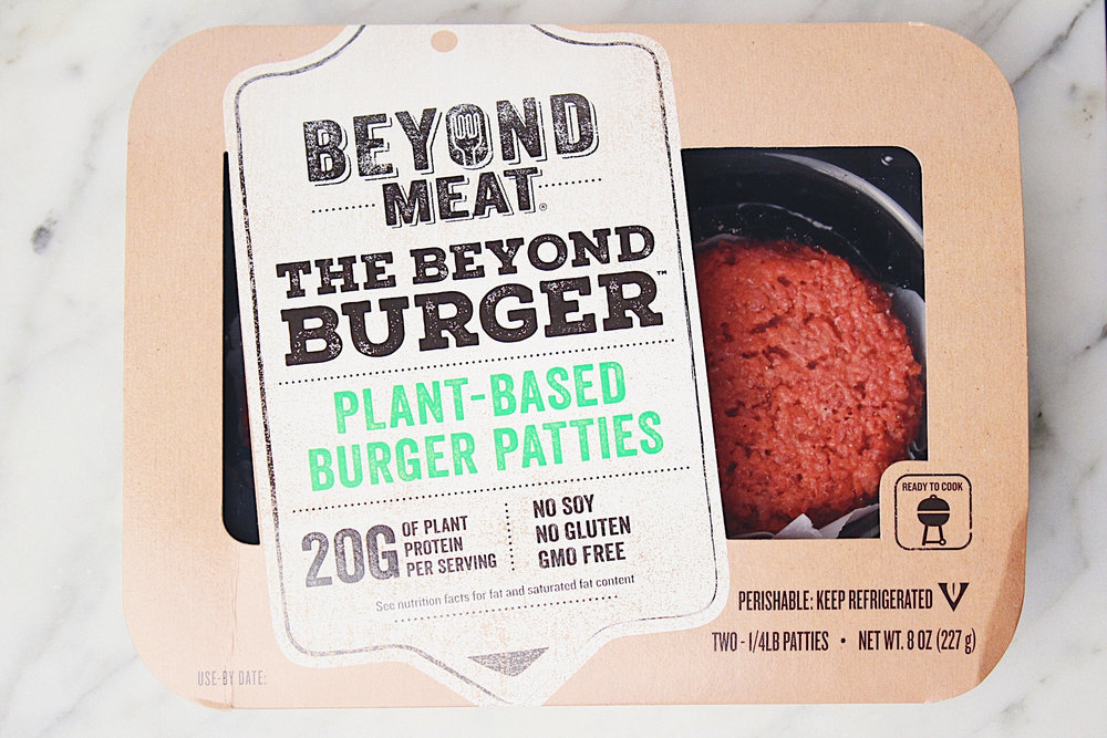 """Beyond Meat, whose investors include billionaire Bill Gates and food giants General Mills Inc. and    Tyson Foods Inc.   , will begin distributing its plant-based vegan burgers in more than 280 Safeway supermarkets in California, Hawaii and Nevada, according to the company.    The Beyond Burger, as the product is known, hit the market last year, but to this point it's only been available at Whole Foods locations and a handful of restaurants. At Safeway, the burgers will appear in the meat case, an attempt to go directly after traditional beef eaters.    Beyond Meat and competitor Impossible Foods have created buzz in foodie circles with vegan burgers that they argue will help wean average Americans off meat. Vegan eating -- once the province of strict dieters and animals-rights activists -- has been gaining broader acceptance in recent years, helped by endorsements from celebrities such as Bill Clinton and Beyonce. A growing number of consumers are now seeking out plant-based products for both health and environmental reasons.    While the Beyond Burger has sold well at Whole Foods over the last several months, getting into a conventional grocery chain marks a turning point, said Ethan Brown, the chief executive officer of Beyond Meat.    """"It's a really important step in terms of reframing how we think about meat,"""" the 45-year-old said in an interview. """"We assume that an animal has to be used for meat, and that's just false.""""    Beyond Meat, based in El Segundo, California, was founded in 2009 and initially focused on a frozen-chicken substitute. The business drew the attention of both Gates and 301 Inc., the venture arm of General Mills. After its new vegan burger was released last year, Tyson Foods, the largest U.S. meat producer, announced it had purchased a 5 percent stake in the company. Beyond Meat also is backed by Don Thompson, the former CEO of McDonald's Corp.    The Beyond Burger, which is made from pea protein, isn't the only game in town when it comes t"""
