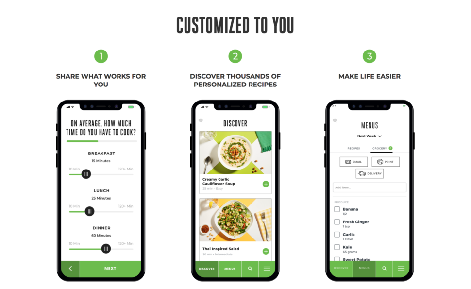 22 Days of Nutrition uses a matching system to connect users to plant-based meals curated by nutritionists. It allows you to customize your meals based on cooking habits, dietary needs, allergies, household size, and goals. At that point, the meals are personalized for you. The app consists of thousands of recipes ranging from breakfast to dinner and boasts that they are easy and simple to make.    by    Sequoia Blodgett    May 2, 2018    Full story at Black Enterprise http://www.blackenterprise.com/beyonce-debuts-new-vegan-meal-planning-app/