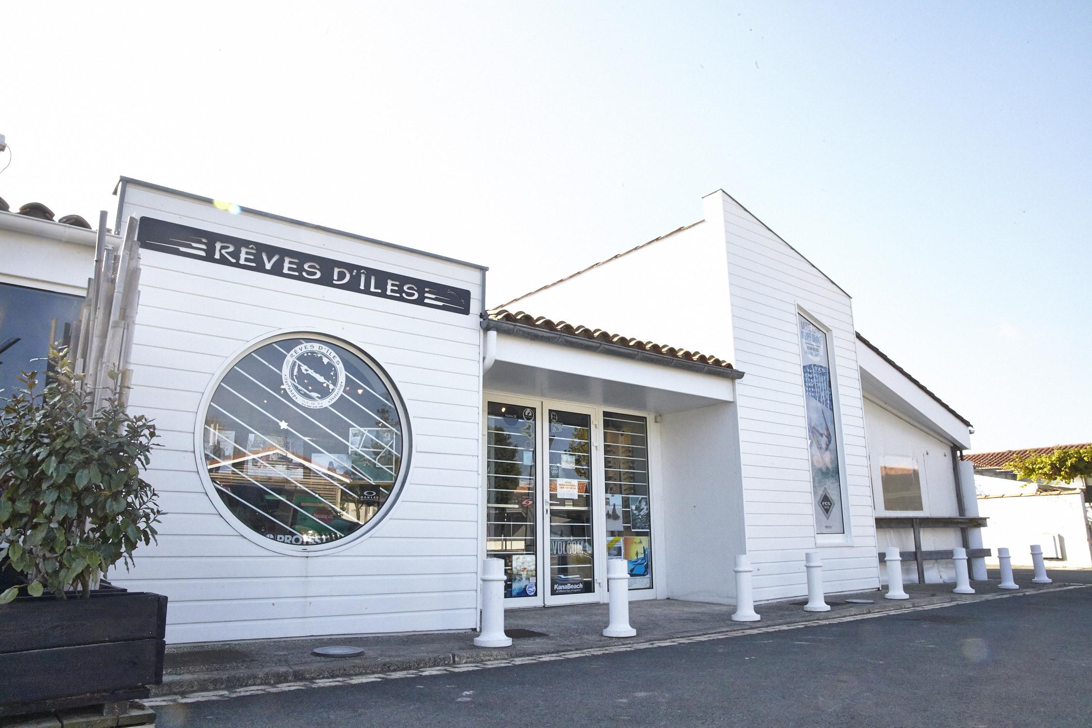 Rêves d'îles Surf shop - Ouvert à l'année.21 c Avenue du Mail, La Couarde sur mer
