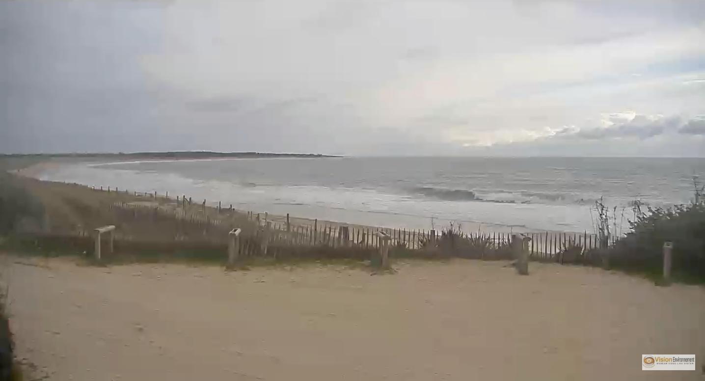 Webcam Oléron - Plage Surf Les Huttes