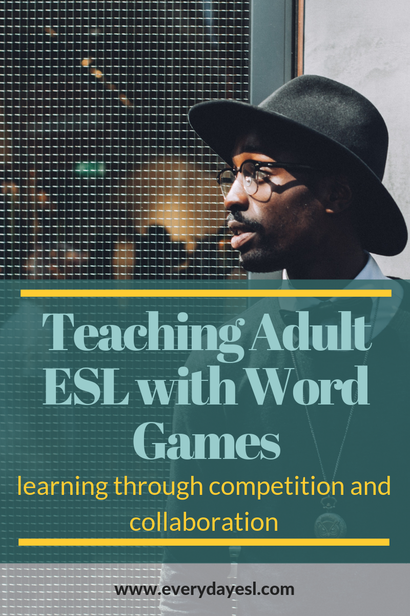 3 Quick and Engaging Word Games to Play with Adult Learners | Everyday ESL | Adult ESL | ESL Games | Adult ESL Activities | Vocabulary Games | Teaching English | Word Association Games