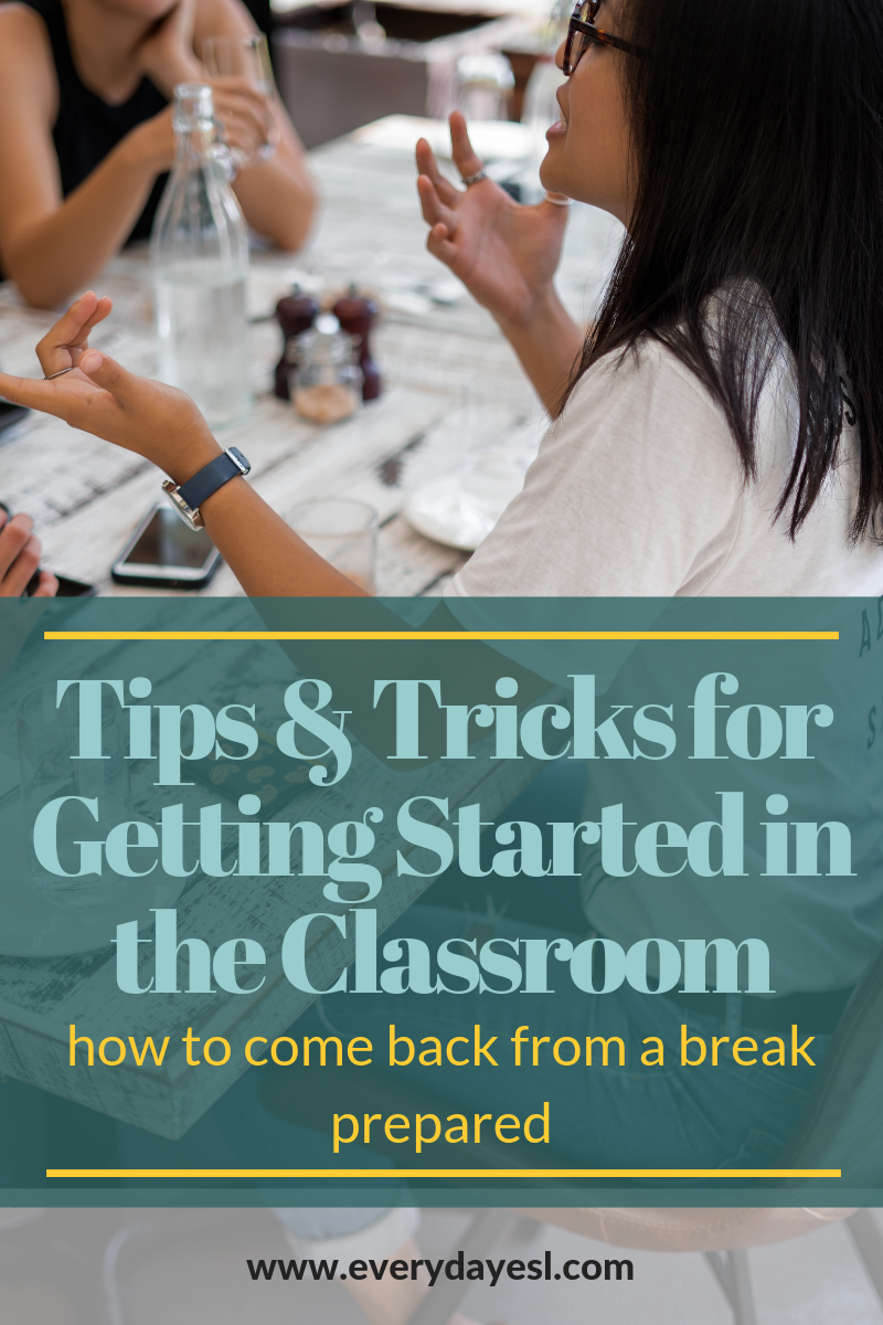 How to Get Started (Again): Coming Back From a Break | Everyday ESL | Adult ESL| ESL Summer Break | Adult ESL Lesson Planning | How to Teach ESL | Beginner-Level English | So, You Need to Learn English... | Reusable Routines | Adult ESL Break | Lesson Planning