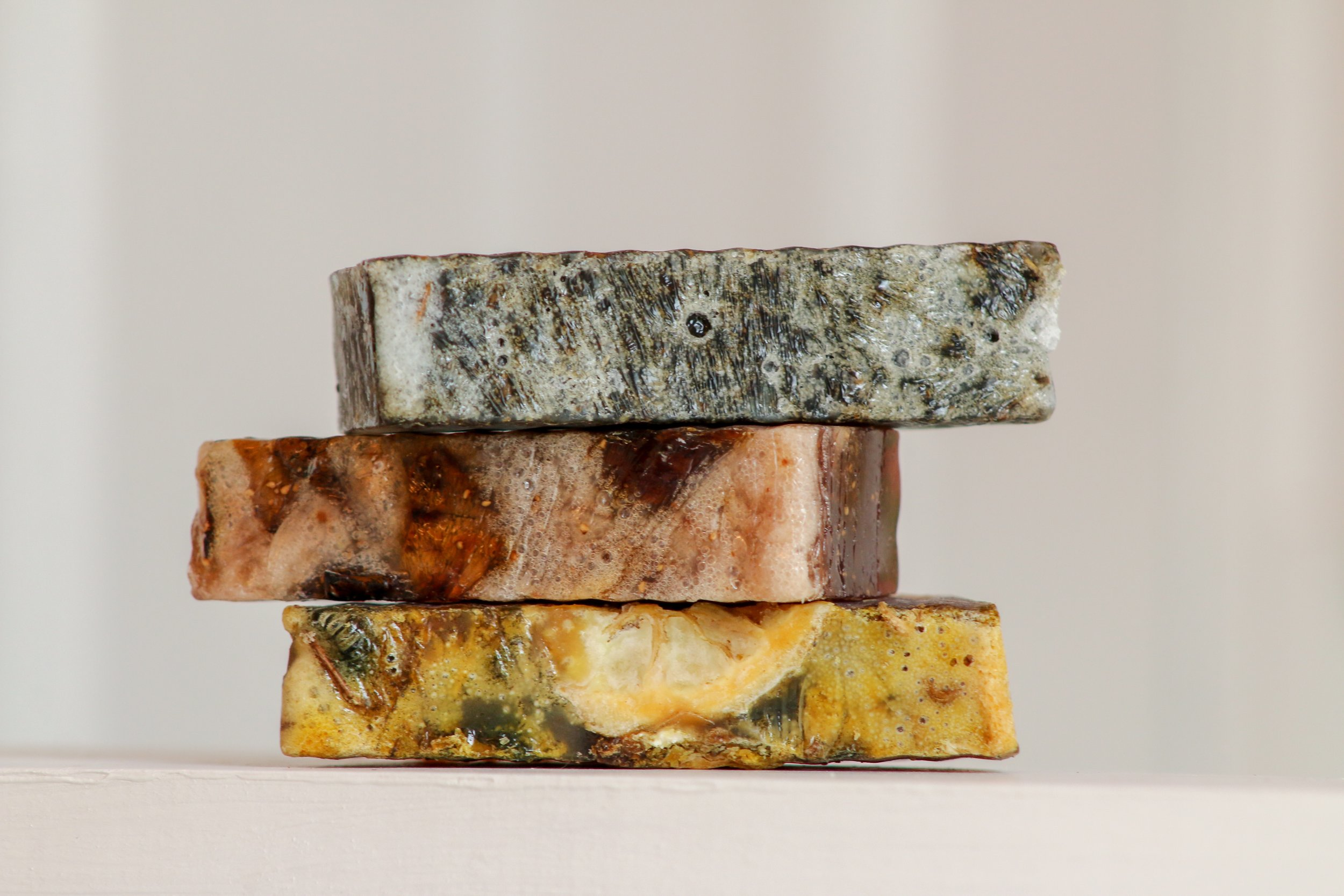 discover our organic soaps - Homemade with love.