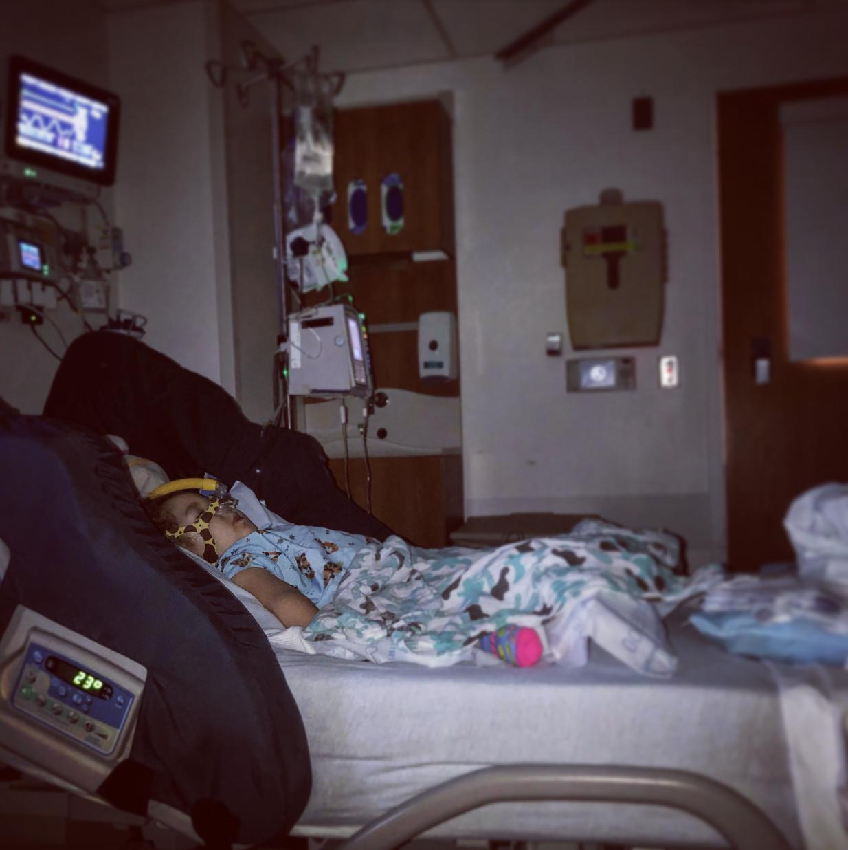 Hospital nights, June 2019