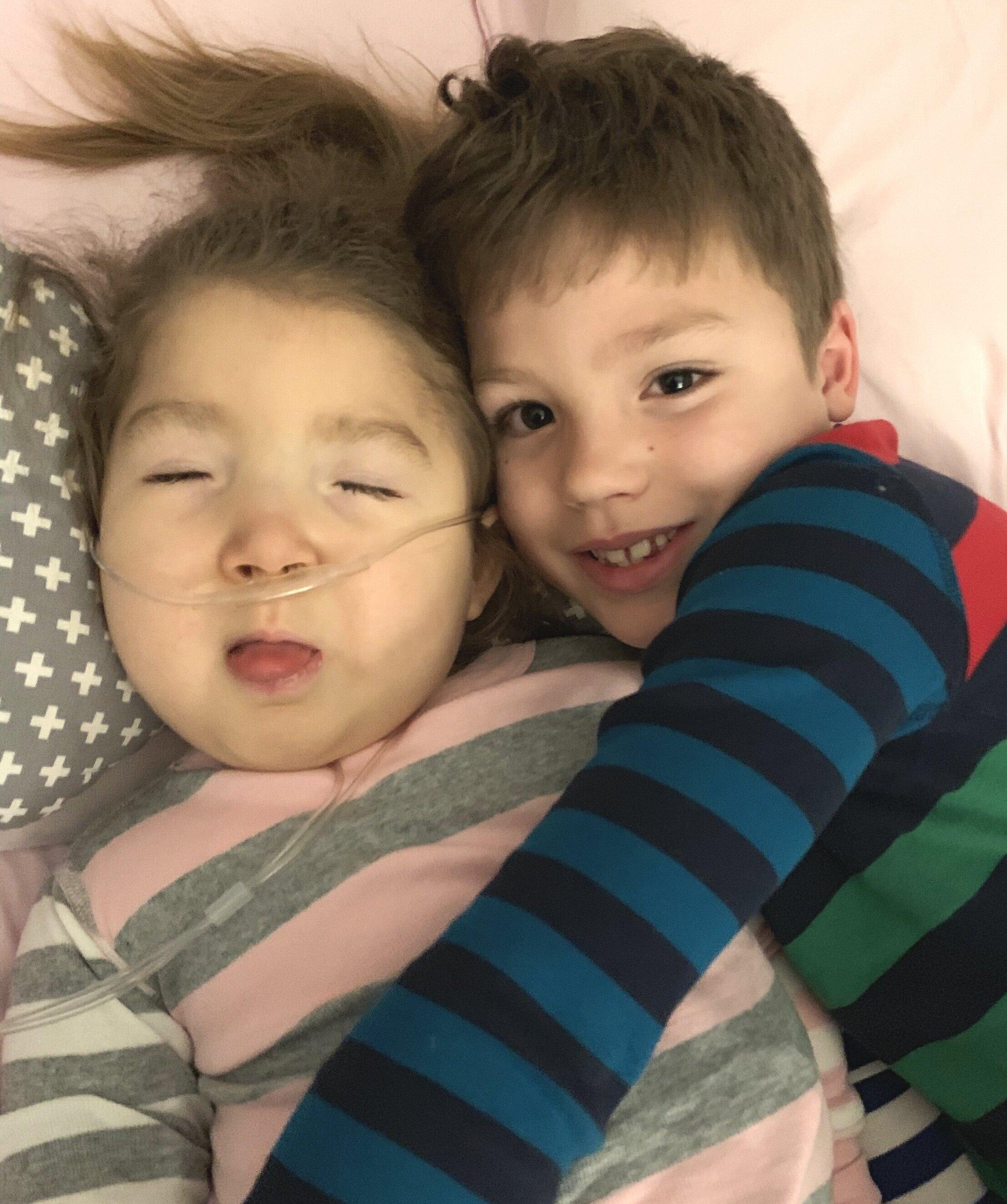 PJ cuddles, October 2019
