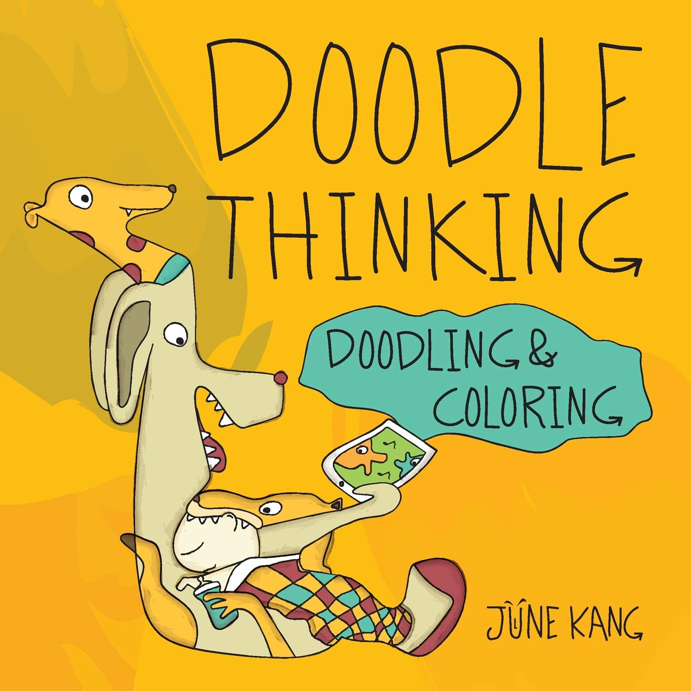 Doodling and Coloring Book - Draw First and Think Later for Limitless Creativity!