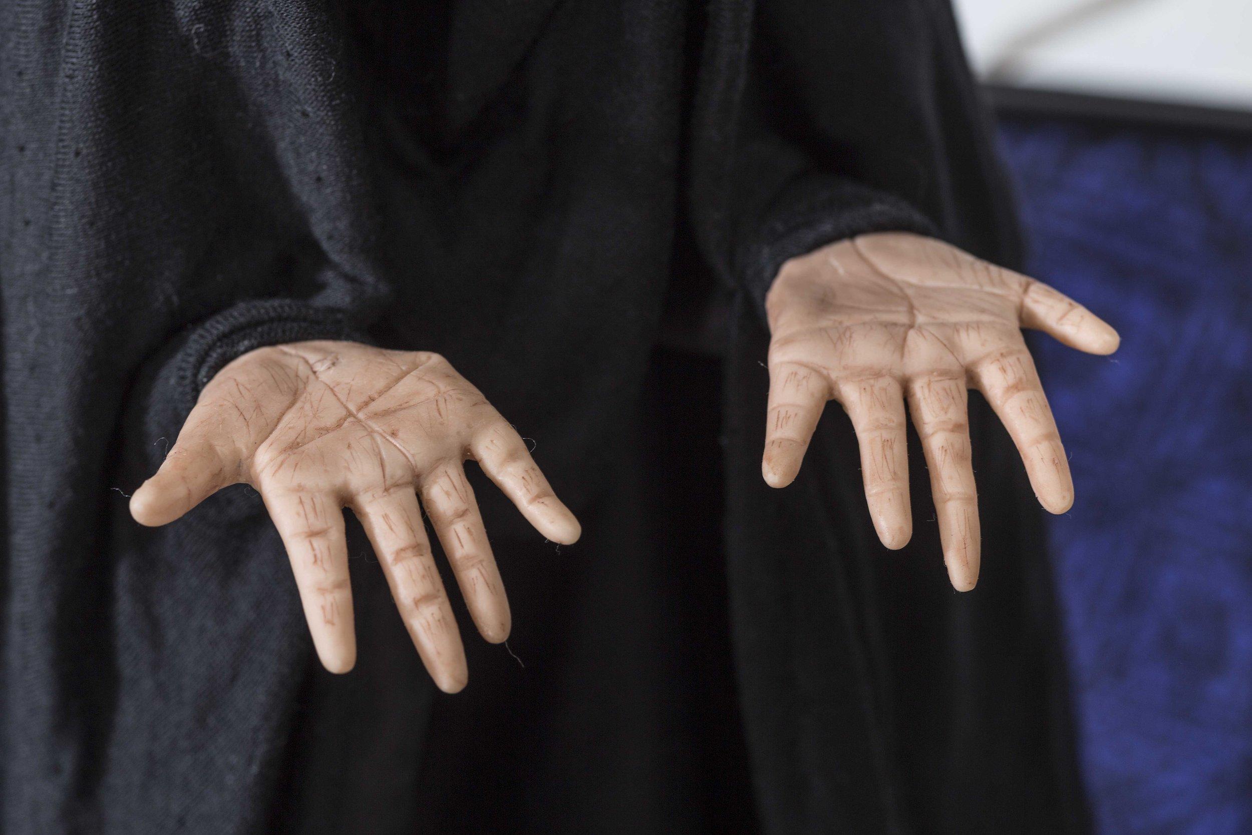 Great Grandmother's hands