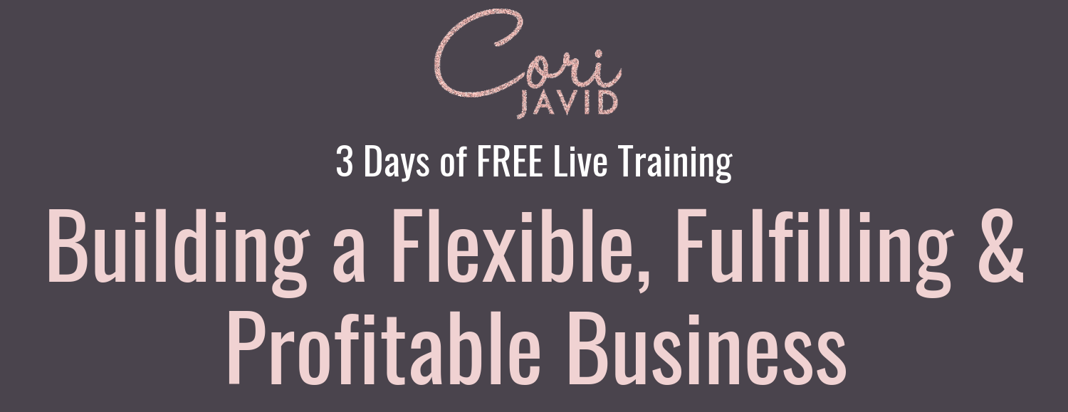 Building a Flexible, Fulfilling & Profitable Business