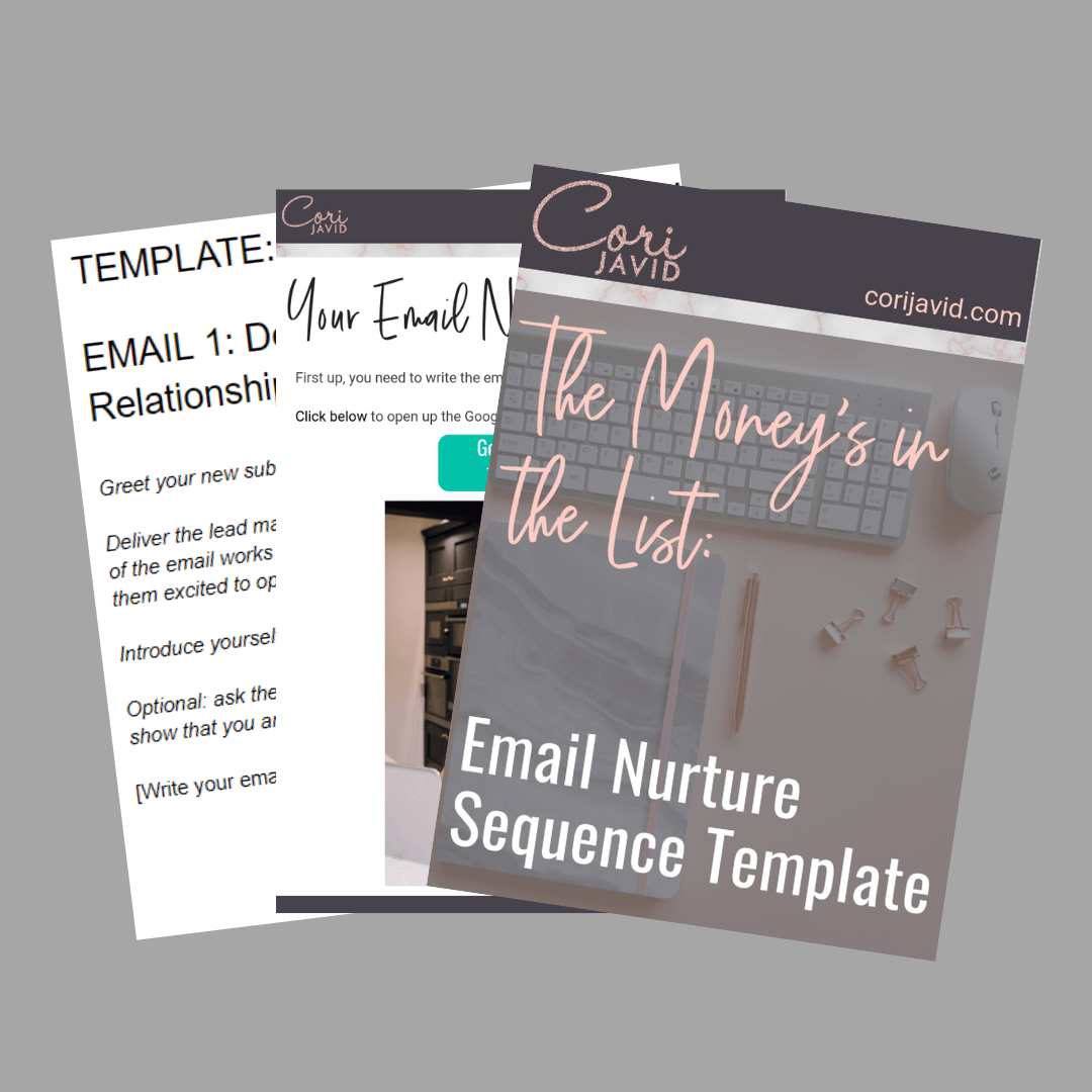 The Money's in the List_ Email Nurture Sequence Template.png