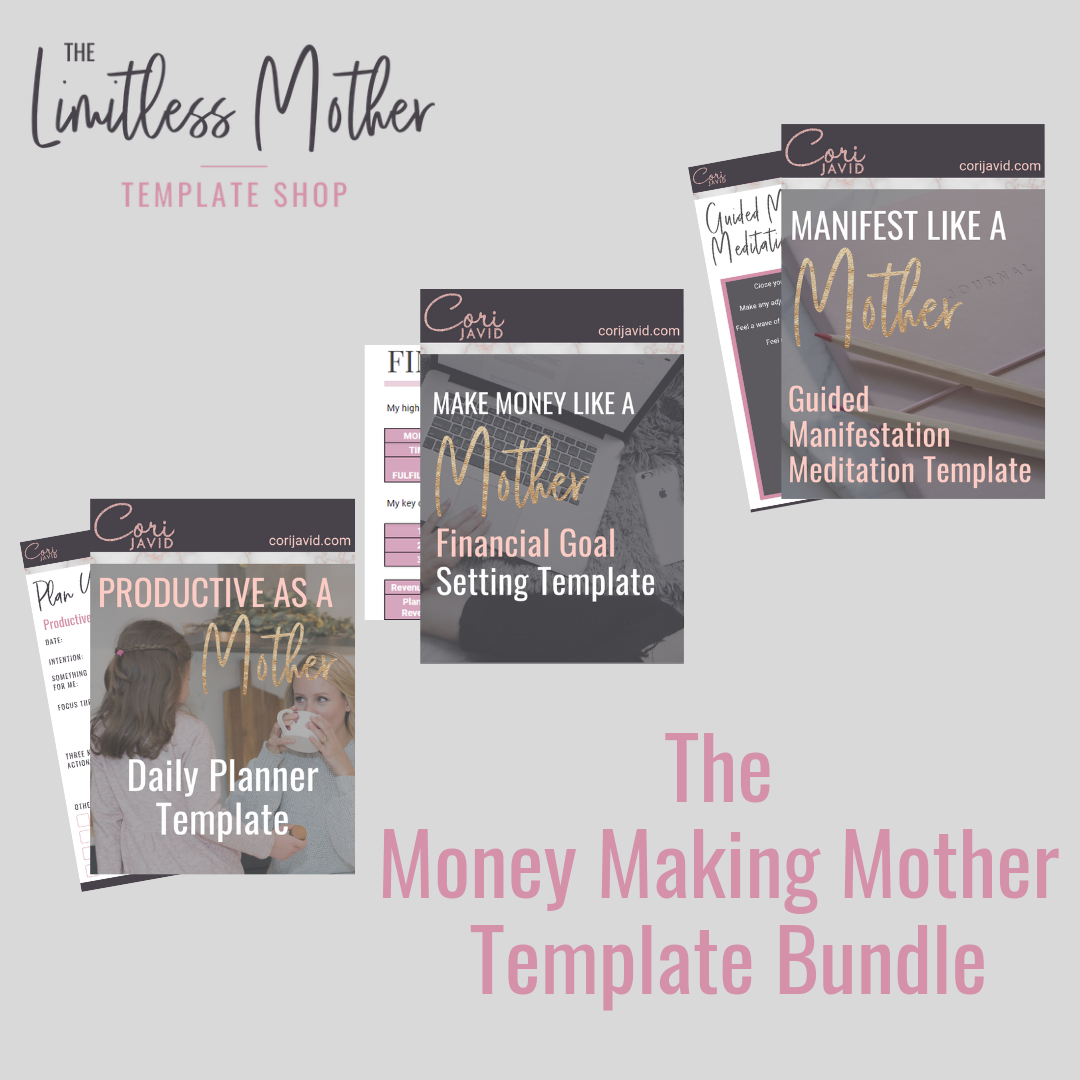 The Money Making Mother Template Bundle