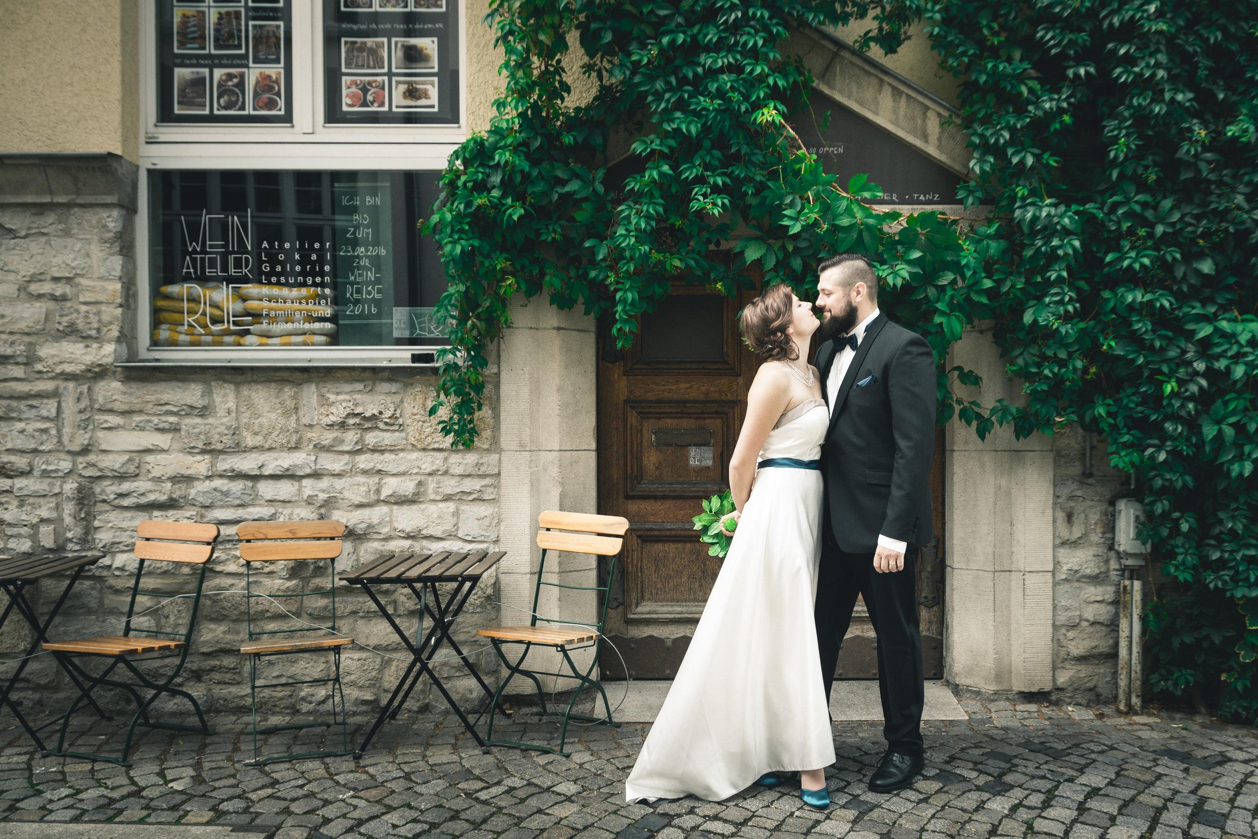 Hochzeitsfotos in Erfurt