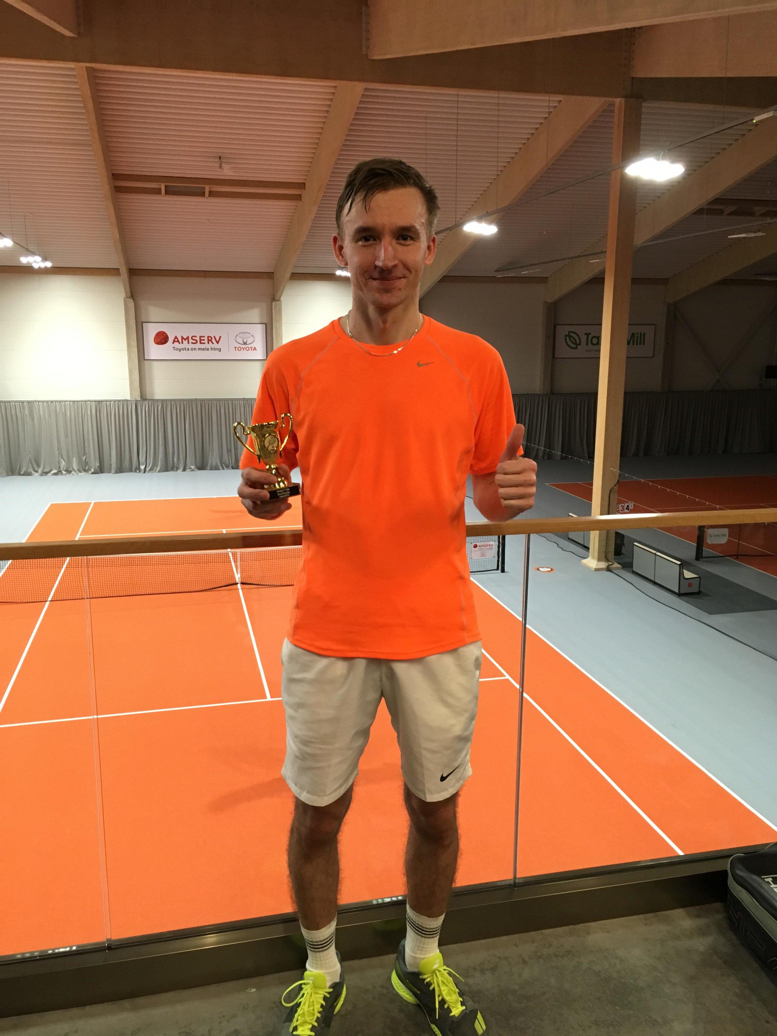 Poolfinalist Rene Hallemaa