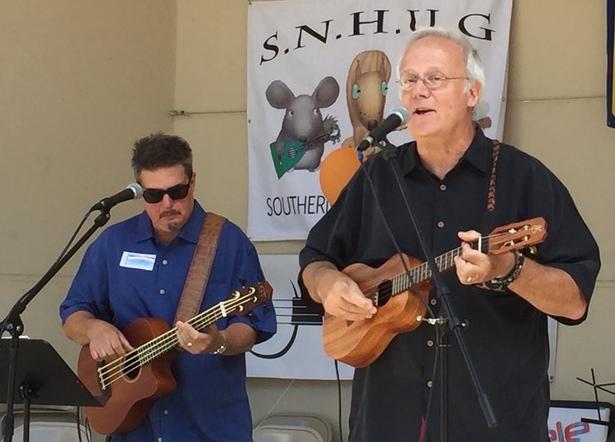 Bart & Bob at The Southern New Hampshire Ukulele Group's SNHUG-Fest 2017
