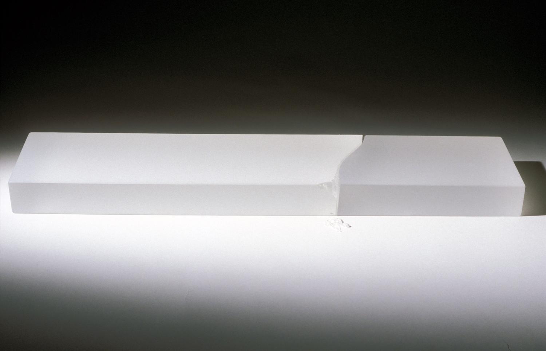 Cast glass, 2002 w:54 x h:3.5 x d:11cm Photography Frank Thurston