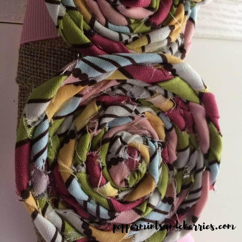 Fabric Rosettes
