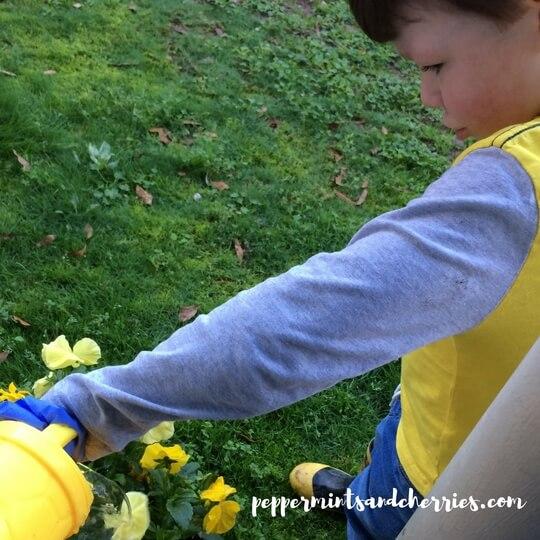 Spring Gardening with a Preschooler