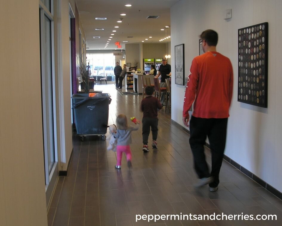 Running to Breakfast at Home2 Suites Greenville Downtown