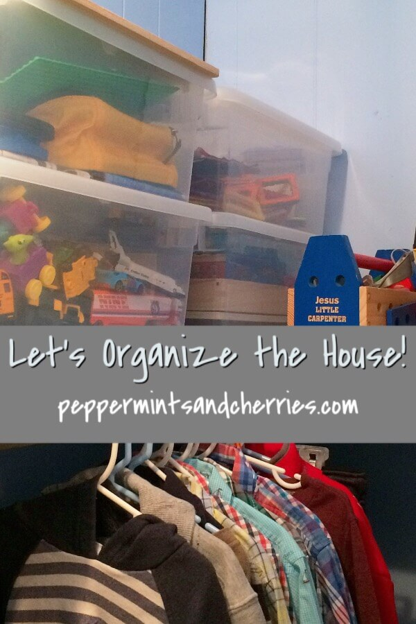 Let's Organize the House