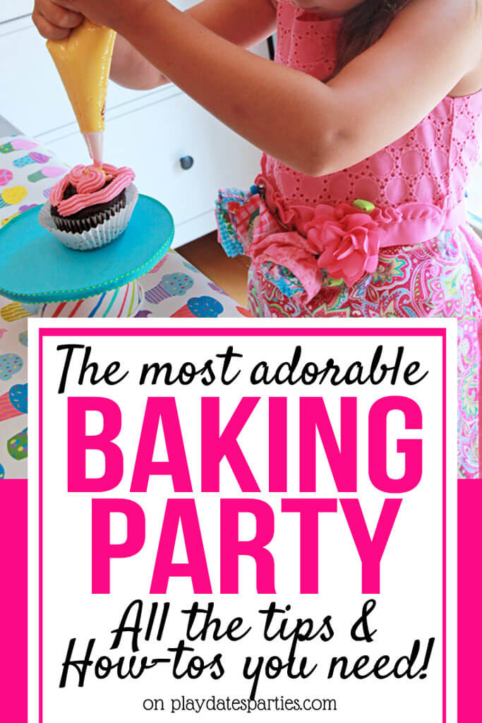 This Is the Most Adorable Baking Party for Kids from Play Dates to Parties