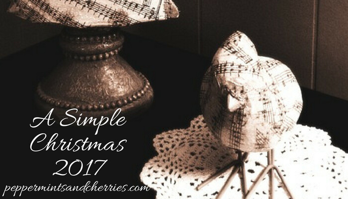 2017's A Simple Christmas Home Tour