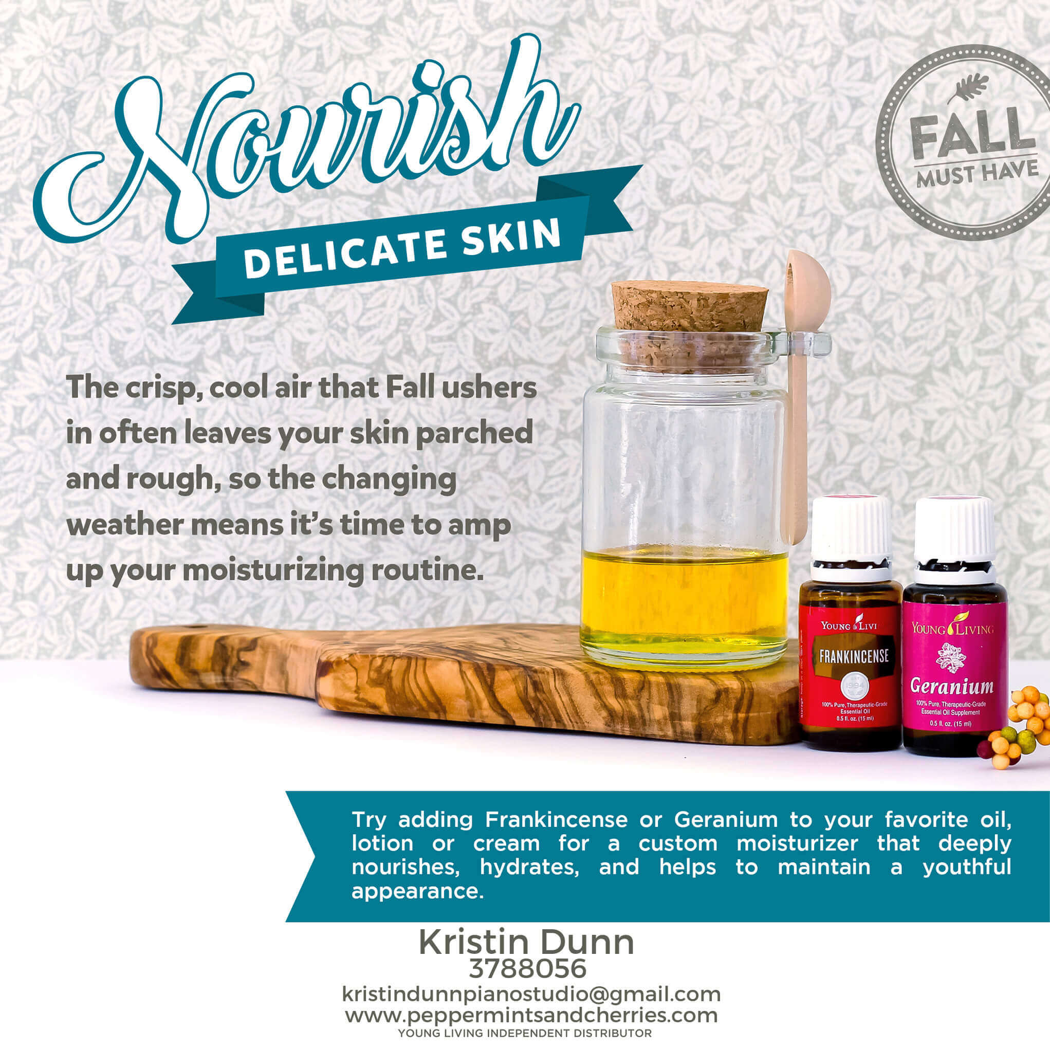 Nourish Delicate Skin with Young Living's Frankincense