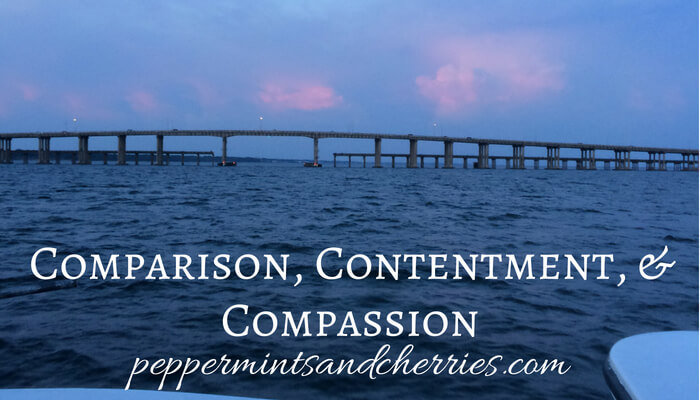 Comparison, Contentment, and Compassion... What to Consider When Enough Is Not Enough