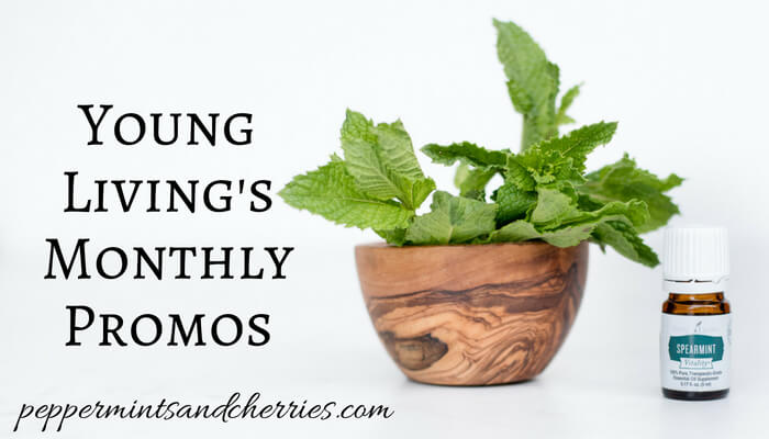 Young Living's Monthly Promotions