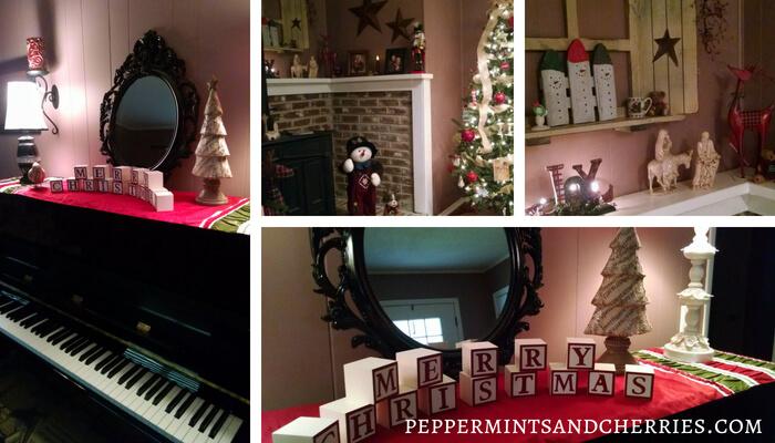 Simple Christmas Home Decor