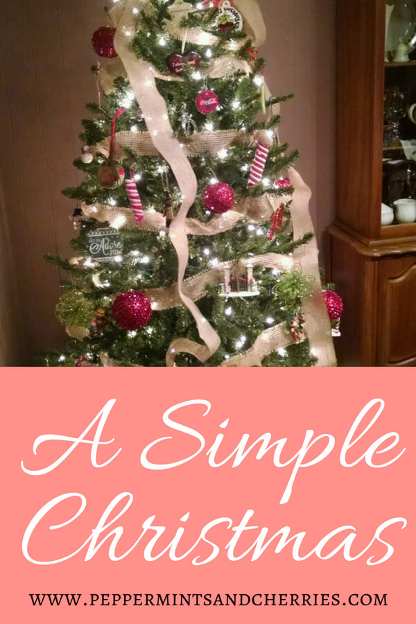 A Simple Christmas and Christmas Home Decor 2015 www.peppermintsandcherries.com