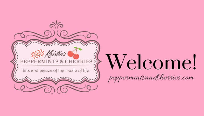 Welcome to Kristin's Peppermints and Cherries Blog!